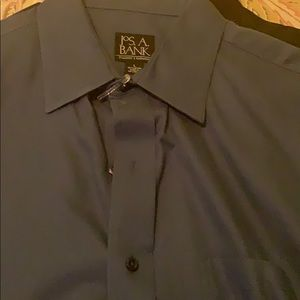Jos. A Bank Cobalt blue dress shirt